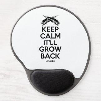 Keep Calm: Barber Shop Humor Gel Mouse Pad