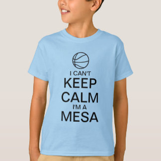 Keep Calm  | Basket Ball T-Shirt