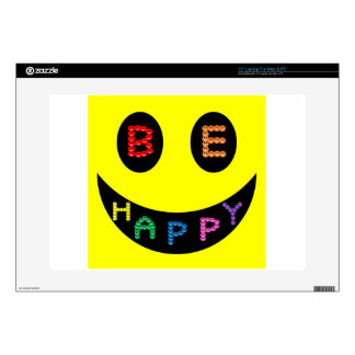 "Keep Calm Be Happy Destiny 15"" Laptop Skins"