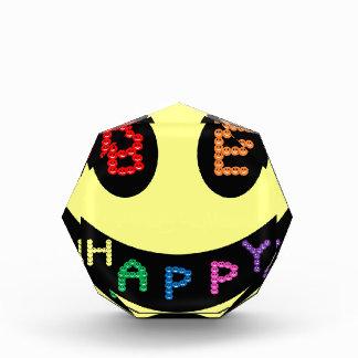 Keep Calm Be Happy Destiny Acrylic Award