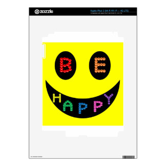 Keep Calm Be Happy Destiny Skins For iPad 3