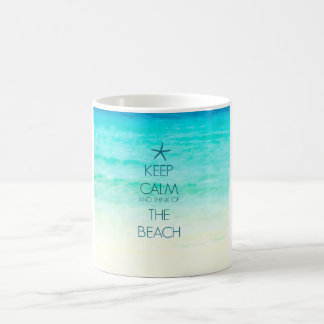 Keep Calm Beach Mug