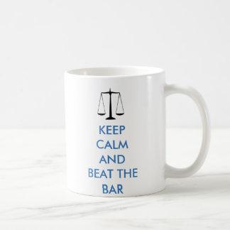 Keep Calm - Beat the Bar Coffee Mug