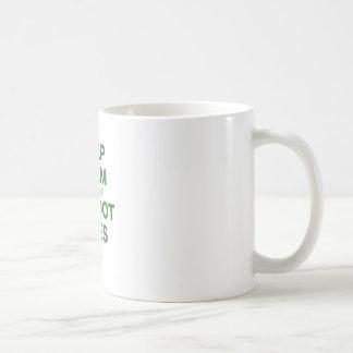 Keep Calm Because Bigfoot Lives Coffee Mug
