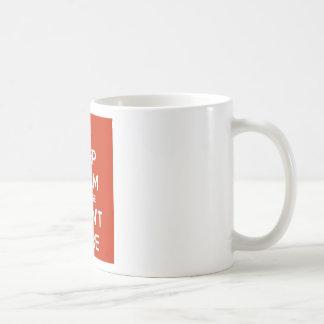 Keep Calm Because I Don't Care Coffee Mug