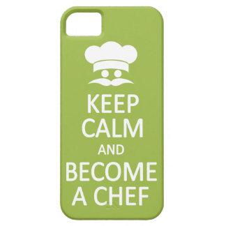 Keep Calm & Become a Chef custom iPhone case