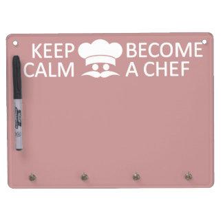 Keep Calm & Become a Chef custom message board