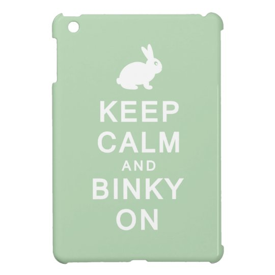 Keep Calm & Binky On iPad Mini Covers