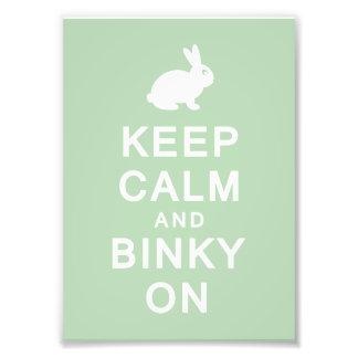 Keep Calm & Binky On Print (Frames Available!) Photo Print