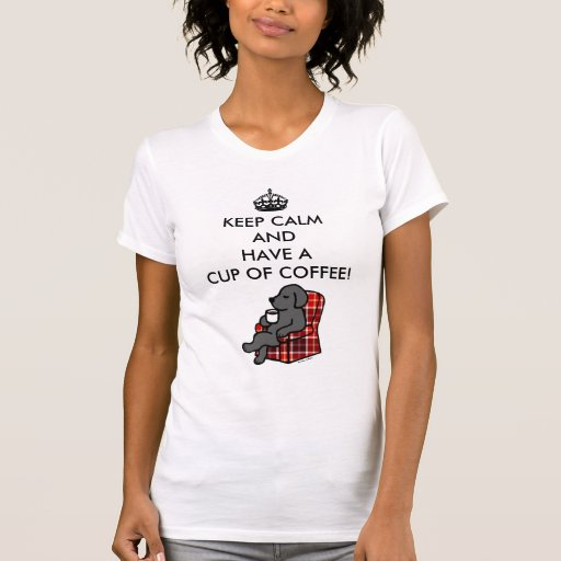 Keep Calm Black Labrador T-Shirt