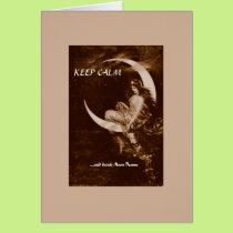 KEEP CALM -- blank inside Card