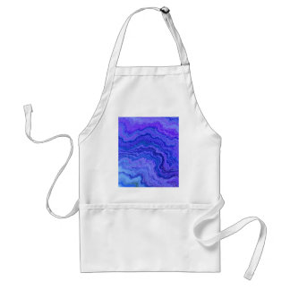 keep calm blue apron