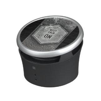 Keep Calm Bluetooth Speaker