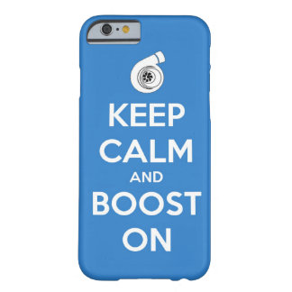 keep calm boost  car turbo engine tuner super musc barely there iPhone 6 case