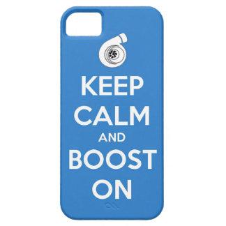 keep calm boost  car turbo engine tuner super musc iPhone SE/5/5s case