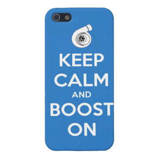 keep calm boost  car turbo engine tuner super musc iPhone SE/5/5s cover