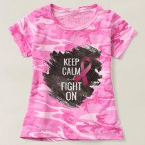 Keep Calm Breast Cancer T-shirt