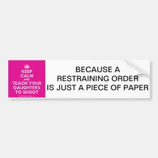 Keep Calm Bumper Sticker
