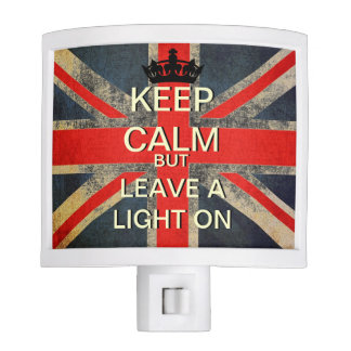Keep Calm But Leave A Light On Night Light
