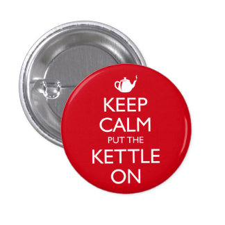 Keep Calm Pinback Button