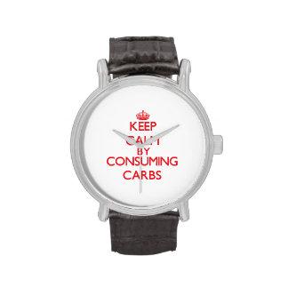 Keep calm by consuming Carbs Watch