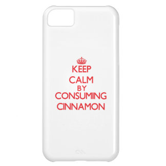 Keep calm by consuming Cinnamon iPhone 5C Cover