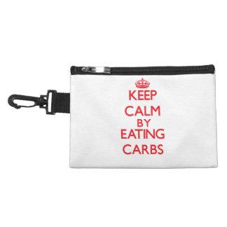 Keep calm by eating Carbs Accessory Bag
