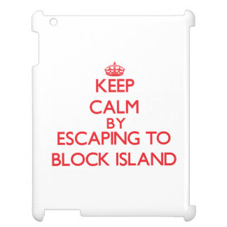 Keep calm by escaping to Block Island Rhode Island iPad Covers