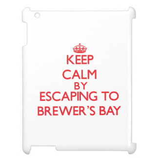 Keep calm by escaping to Brewer'S Bay Virgin Islan iPad Cases