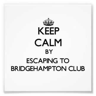 Keep calm by escaping to Bridgehampton Club New Yo Photograph