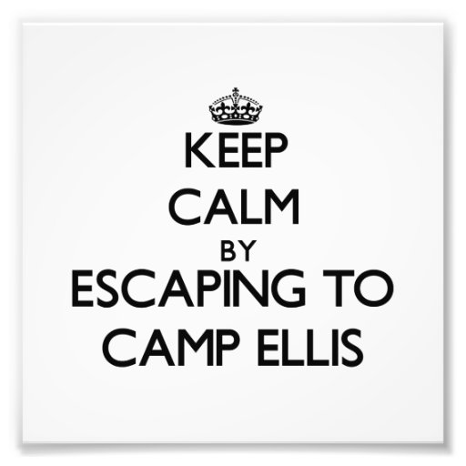 Keep calm by escaping to Camp Ellis Maine Photograph