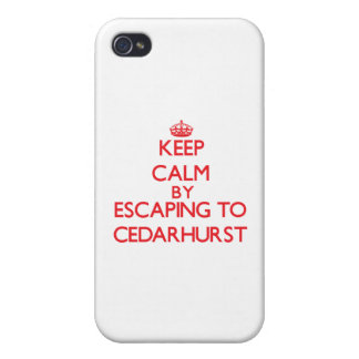 Keep calm by escaping to Cedarhurst Maryland Cases For iPhone 4