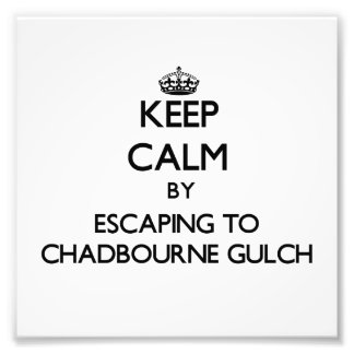 Keep calm by escaping to Chadbourne Gulch Californ Photo