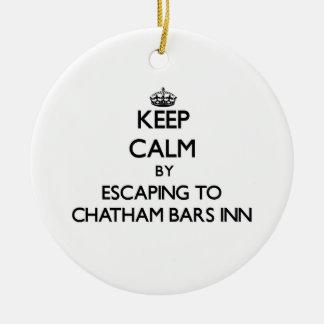 Keep calm by escaping to Chatham Bars Inn Massachu Christmas Ornaments