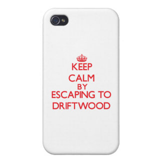 Keep calm by escaping to Driftwood Maryland iPhone 4/4S Covers