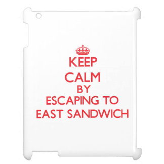 Keep calm by escaping to East Sandwich Massachuset Cover For The iPad