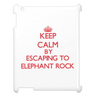 Keep calm by escaping to Elephant Rock Massachuset Case For The iPad