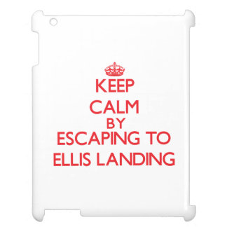 Keep calm by escaping to Ellis Landing Massachuset Cover For The iPad