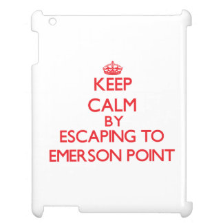 Keep calm by escaping to Emerson Point Florida iPad Case