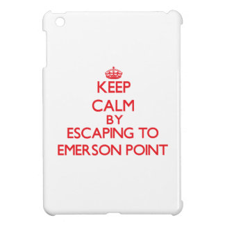 Keep calm by escaping to Emerson Point Florida Cover For The iPad Mini
