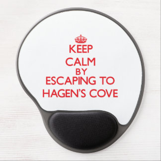 Keep calm by escaping to Hagen'S Cove Florida Gel Mouse Pad