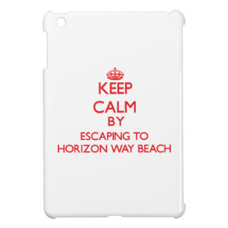 Keep calm by escaping to Horizon Way Beach Florida iPad Mini Covers