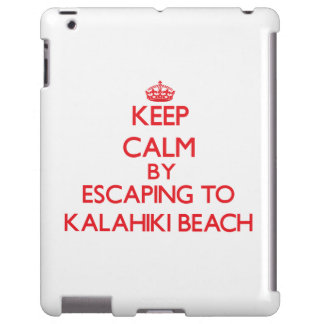 Keep calm by escaping to Kalahiki Beach Hawaii
