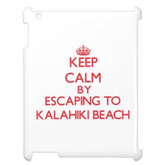 Keep calm by escaping to Kalahiki Beach Hawaii Case For The iPad 2 3 4