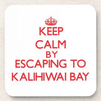 Keep calm by escaping to Kalihiwai Bay Hawaii Coasters