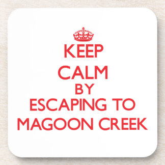 Keep calm by escaping to Magoon Creek Michigan Coaster