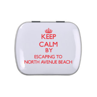 Keep calm by escaping to North Avenue Beach Illino Candy Tins