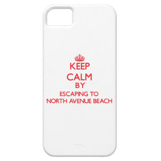Keep calm by escaping to North Avenue Beach Illino iPhone 5 Covers