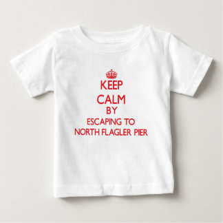 Keep calm by escaping to North Flagler Pier Florid Shirt
