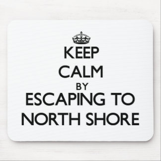 Keep calm by escaping to North Shore Florida Mousepads